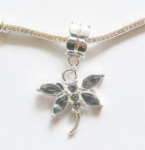 "925 Silver Plated Custom Fit Pendant 1 1//8/"" RICHFEEL Simulated EMERALD Gemstone"
