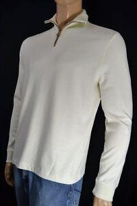 Polo Ralph Lauren CREAM 1/2 HALF ZIP SWEATSHIRT NWT S