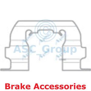 APEC Brems Scheibe Bremsbelag Montagesatz Zubehör kit1051