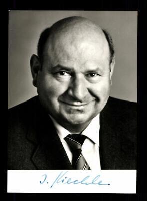 Sammeln & Seltenes Sonnig Ignaz Kiechle Autogrammkarte Original Signiert # Bc 144124 Durchblutung GläTten Und Schmerzen Stoppen Politik