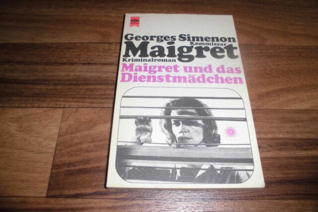 Georges Simenon -- KOMMISSAR MAIGRET und das DIENSTMÄDCHEN // 1980