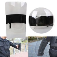 Transparent Pc Hand-held Shield Police Swat Riot Shield For Security Protection