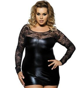 plus size dress ebay vinyl