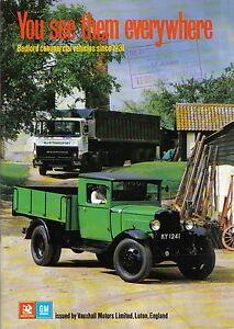 Bedford Commercial Vehicles Since 1931 Pub Vauxhall Motors Vans Trucks Buses Ebay