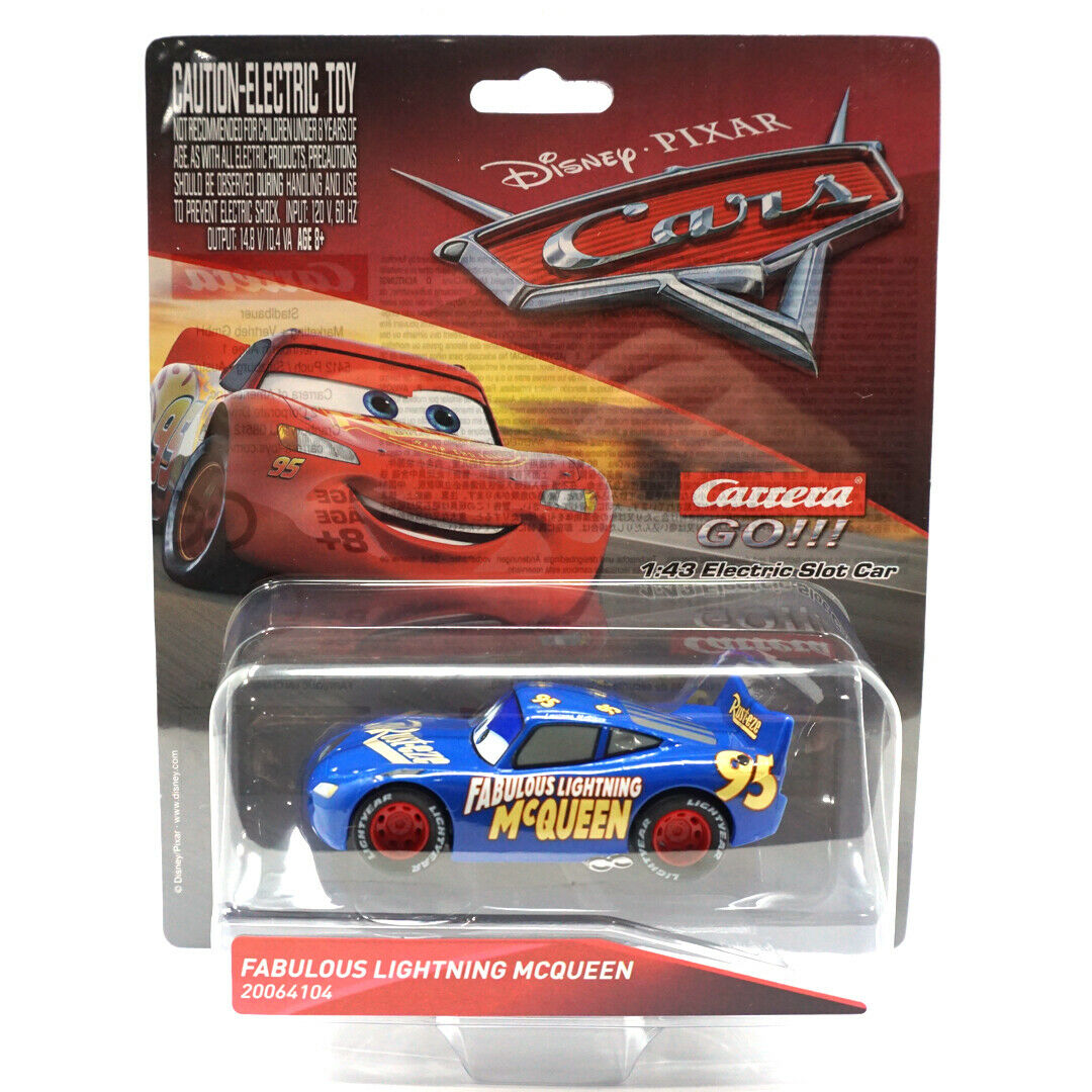 Disney Cars 3 Cup Duel Carrera Go 4 3m Track Lightning Mcqueen Jackson Storm For Sale Online Ebay