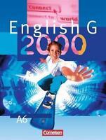Schulbuch Schülerbuch English G 2000  A6 Englisch Cornelsen Gymnasium