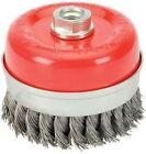 Draper 41449 80mm X M14 Twist Knot Wire Cup Brush