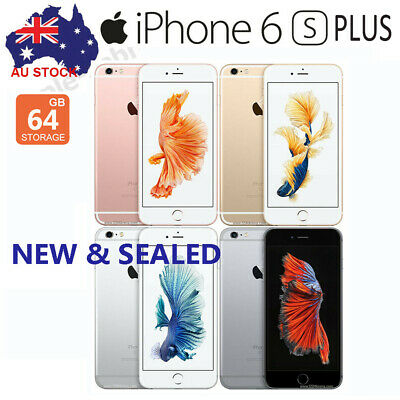 Details about  New Apple iPhone 6s Plus 64GB Gray Gold Silver (Unlocked) A1687~Sealed Unopened