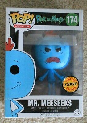 Funko Pop Rick and Morty #174 Mr Meeseeks Vinyl Figure