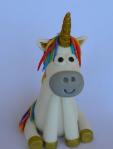 f1bd3f820d7 Image is loading 3D-edible-UNICORN-cake-topper-decoration-HORSE-WEDDING-