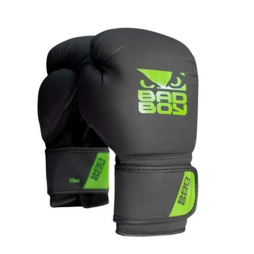 Bad Boy Kids Active Boxing Gloves Black Junior Punch Mitts Sparring Training