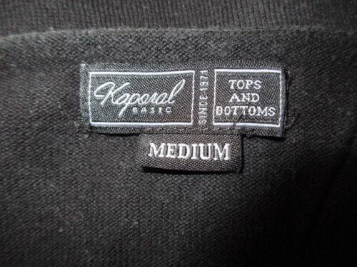 56 M Kaporal Maglione Nero Taglia 5 Leggero A q0wqTB74