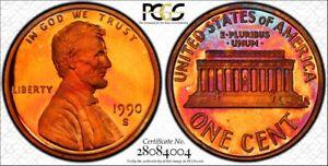 1990-S-PCGS-PR68-DCAM-Lincoln-Cent-RicksCafeAmerican-com