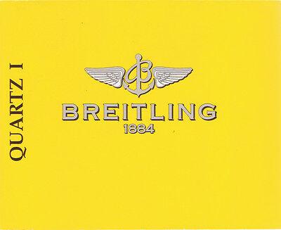 Diplomatisch Breitling Quartz 1 Anleitung Instructions I223