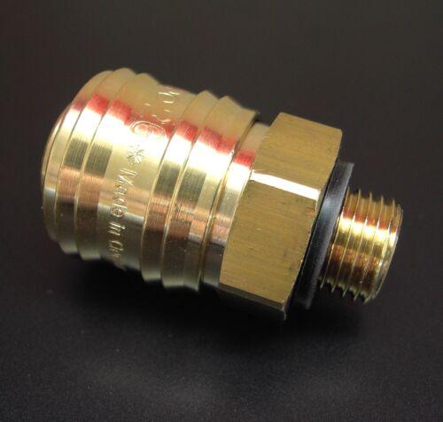Parker Druckluftkupplung Stecker Entlüfterkupplung Schnellkupplung