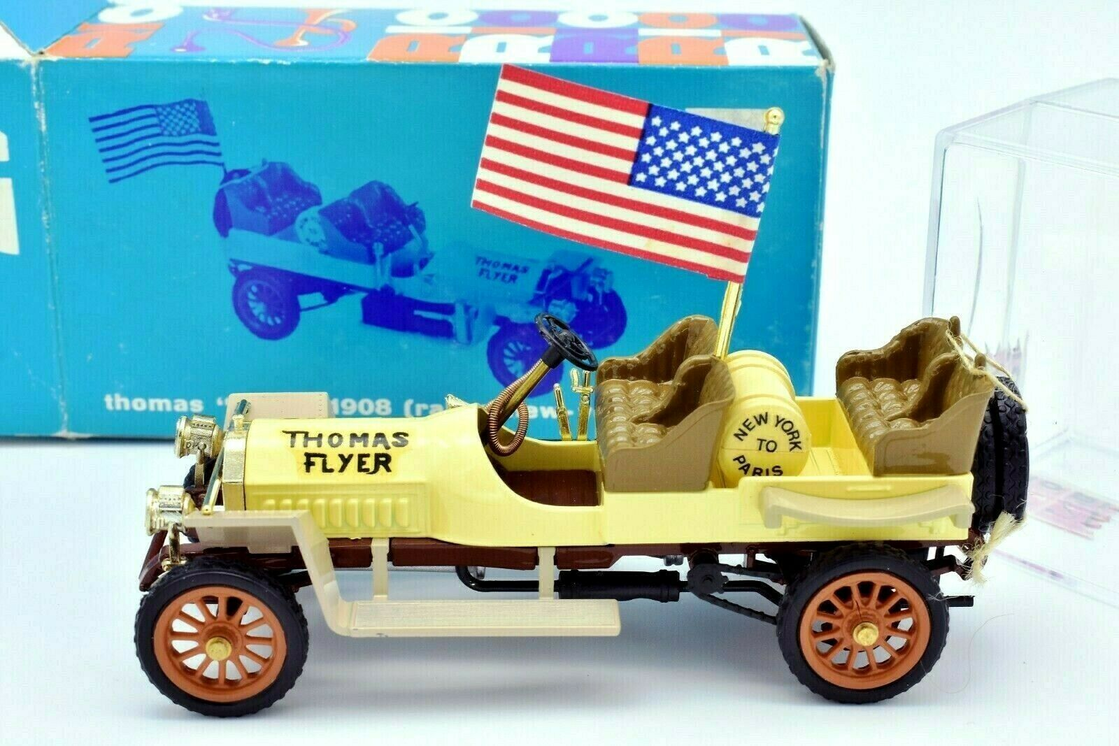 Model Car Thomas Flyer Rallye New York Paris 1 43 Diecast Car Model Rio 47