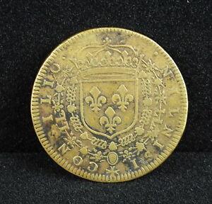 Jeton-token-CONSEIL-DU-ROI-Louis-XIV-IIII-NIL-NISI-CONSILIO-c1659