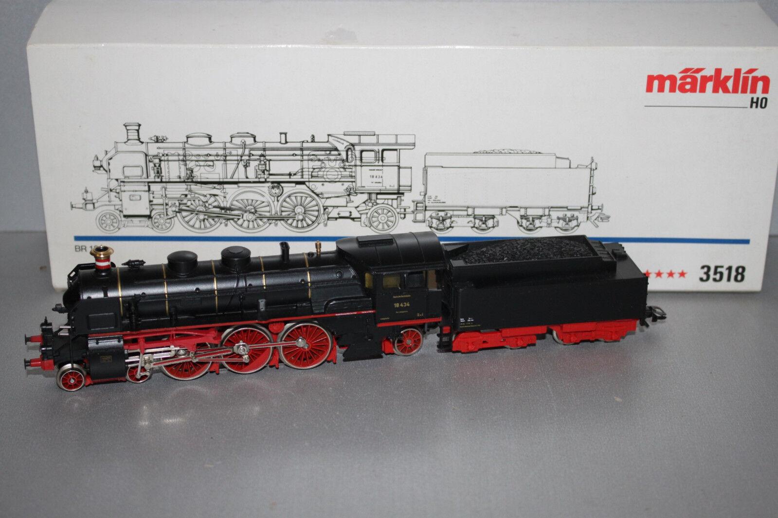 3518 locomotiva serie siano 18 434 traccia h0 OVP