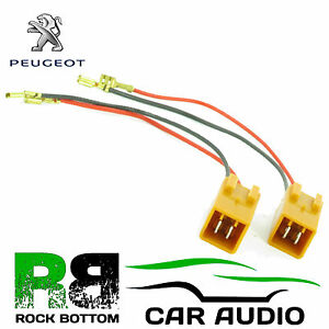 ct55 pe01 peugeot 306 upto 2015 car replacement speaker wiring loom rh ebay ie peugeot stereo wiring diagram peugeot 206 speaker wiring diagram