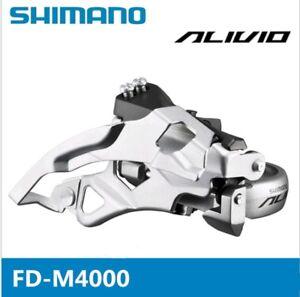 SHIMANO-Alivio-Front-Derailleur-FD-M4000-9S-31-8-34-9mm-Top-Swing-Bicycle-MTB