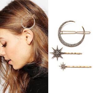 Femme-Fille-Pince-Cheveux-Barrette-epingle-Geometrique-Bijoux-Accessoire-Mode