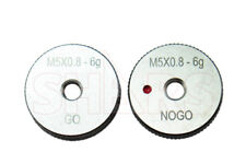 SHARS M16 x 2 GO NO-GO THREAD RING GAGE 2PCS SET NEW !