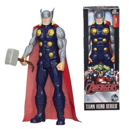 "12/"" Avengers Figures Spider-Man Captain America Iron Man Wolverine Thor Kids Toy"