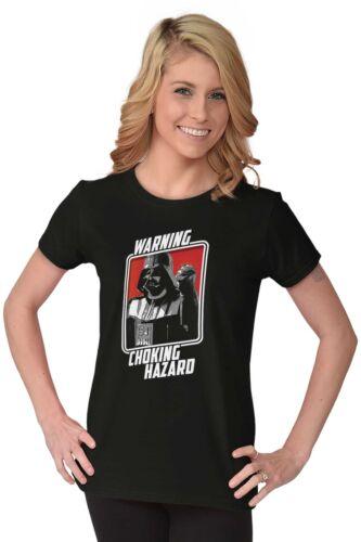 Darth Vader Choking Hazard Funny ShirtStar Death Wars Star Womens T Shirt