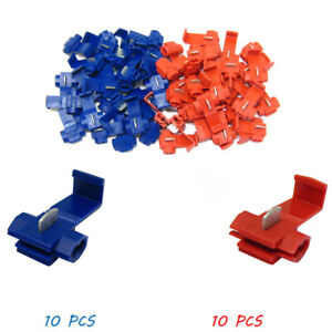 20-Pcs-Wire-Cable-Connectors-Terminals-Universal-Plug-in-Block-Heat-Shrink-Lock