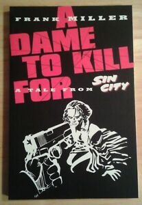 SIN-CITY-A-DAME-TO-KILL-FOR-by-Frank-Miller-1994-graphic-novel-VF-NM-Darkhorse