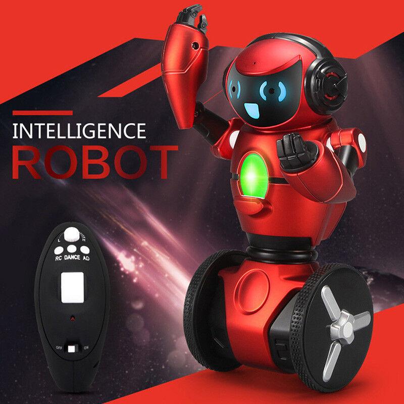 F1 2.4G 3-Axis Gyro Intelligent Gravity Sensor RC Smart Robot Remote Control Toy