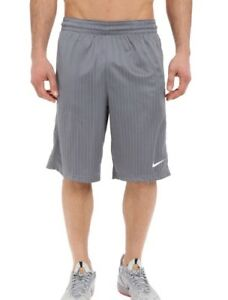 87430f22fed Details about Nike Men's Basketball Shorts Layup Cool Grey Size S Pinstripe  Design 718344-065