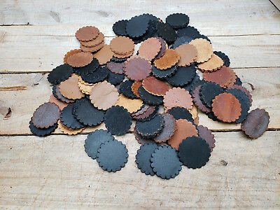 """Berry Tooling G/&E 2/"""" Leather Rosette Conchos 4 pack"""