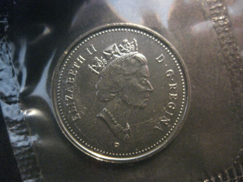 $0.05 P 2003 Canadian Prooflike Nickel