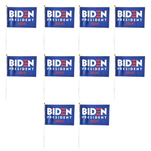 10x Joe Biden 2020 Elect Flags President Banners Home Garden Car Decor Flags