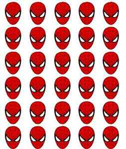 30-Spiderman-Edible-Rice-Paper-Cake-Cupcake-Toppers-Decorations
