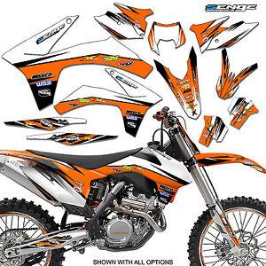 1998 1999 2000 ktm exc 125 200 250 300 380 400 graphics kit deco decals moto ebay