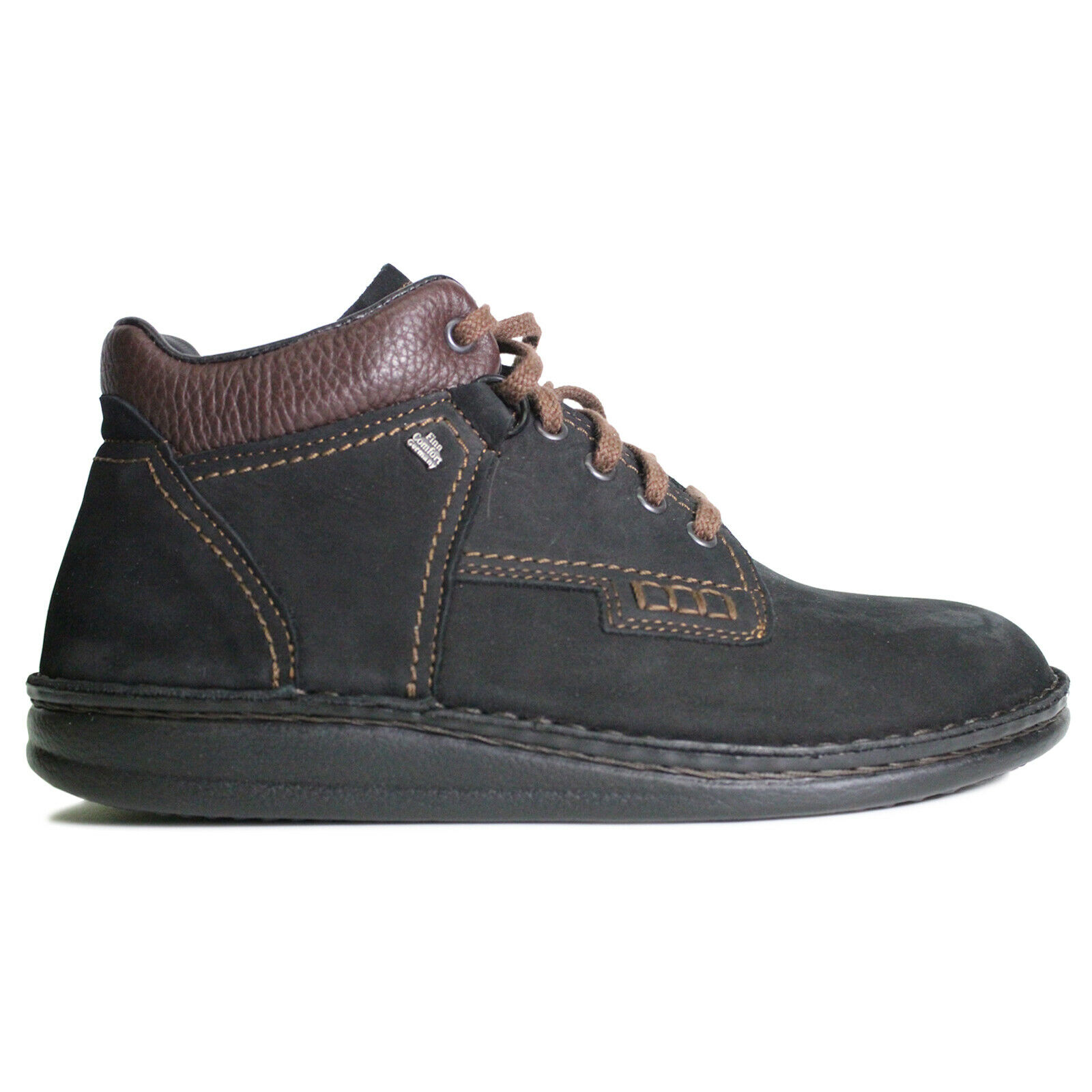 Finn Comfort Unisex Stiefel Linz Casual Lace-Up Ankle Nubuck Leather