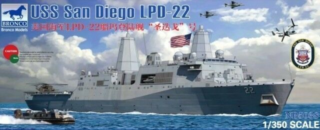 BRONCO NB5038 1 350 USS San Diego LPD-22