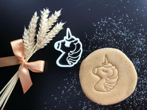 Unicorn détaillé Cookie Cutter 06Fondant Décoration GâteauUK
