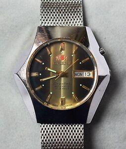100% Wahr Orient Crystal Automatic Armbanduhr Für Herren Herrenuhr Herrenarmbanduhr Diversifizierte Neueste Designs