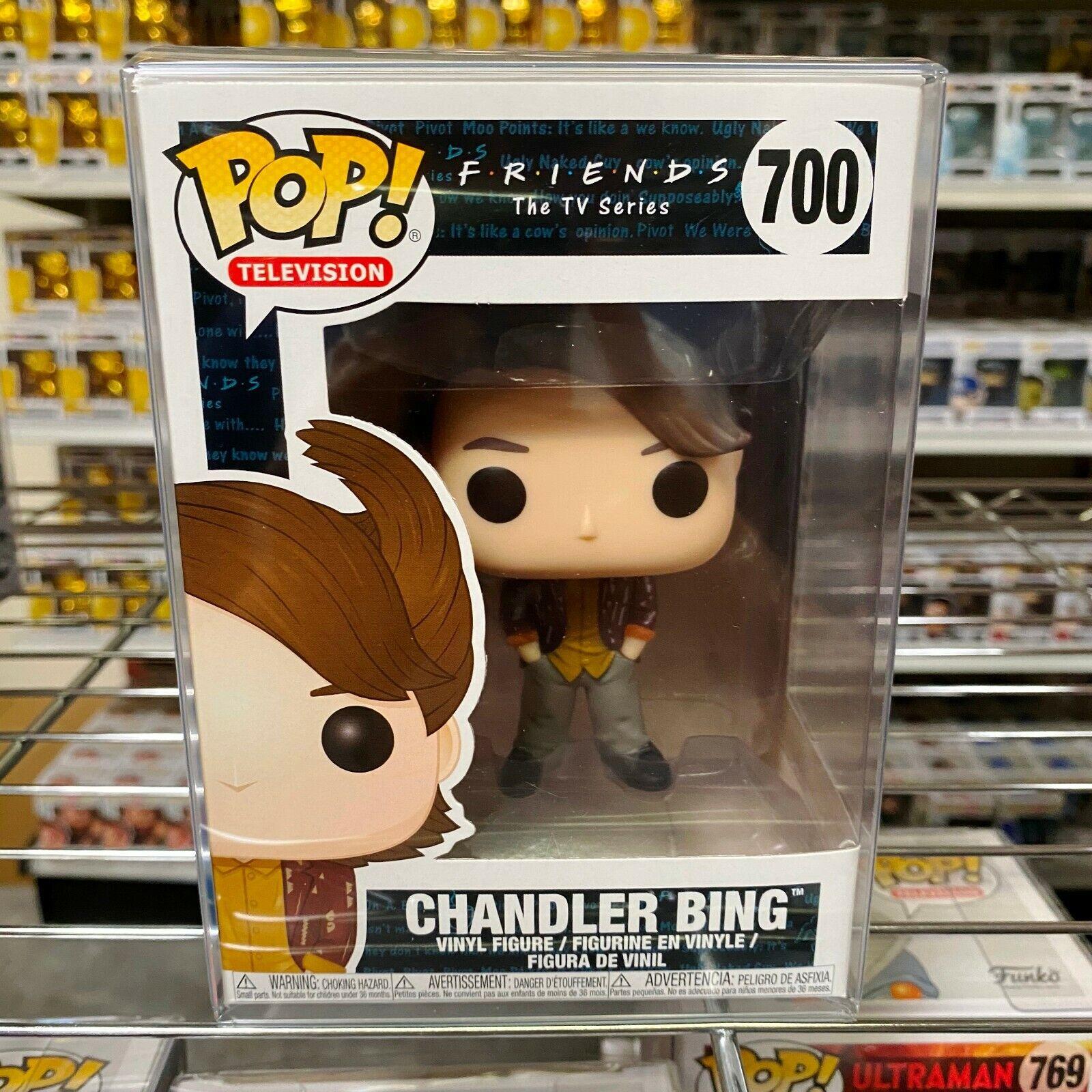 """Funko Pop Friends : Chandler Bing #700 Vinyl Figure w/0.5mm Case """"MINT"""""""