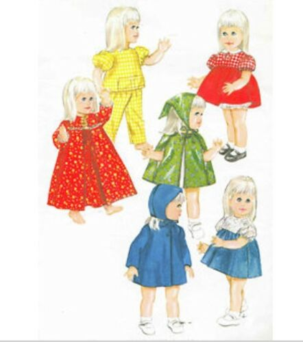 Vintage Pattern for Chatty Cathy Doll Patterns #4169