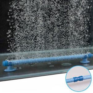 Air Stone Aquarium Bubble Aeration Tube Wall Curtain Fish
