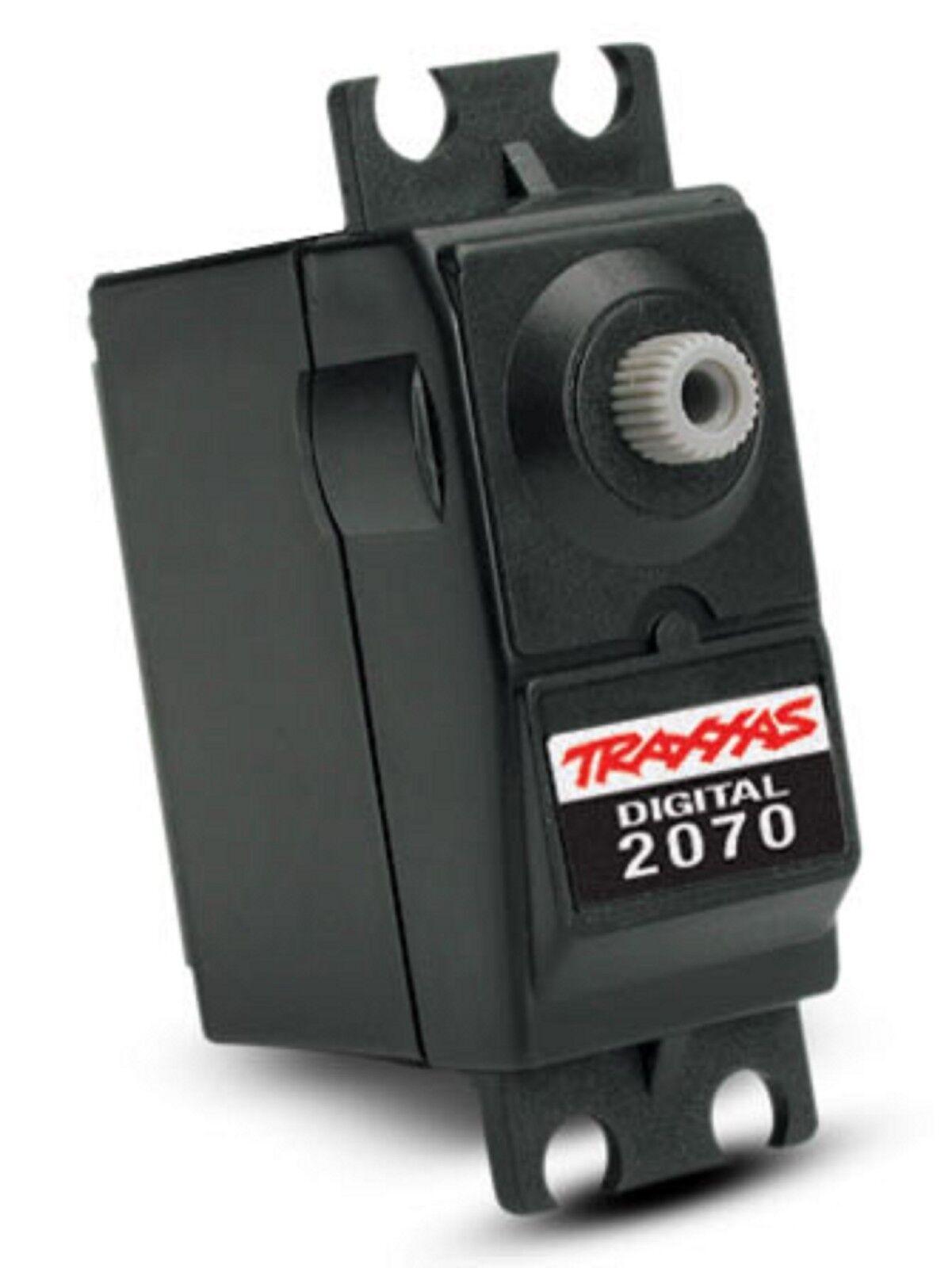 Traxxas TRA2070 Digital Ball Ball Ball Bearing Servo 125 oz-in torque Transit time 0.60° fee797