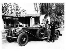 1929 Mercedes Benz Factory Photo Actor Al Jolson & Singer Ruby Keeler ub2626-VHG
