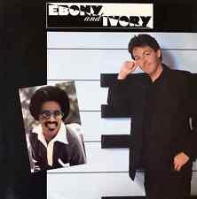 "PAUL MCCARTNEY FT STEVIE WONDER - Ebony And Ivory (7"") (G+/VG)"
