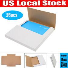 25pcs Premium Record Album Mailers Book Box Variable Depth Laser Disc Mailers Us