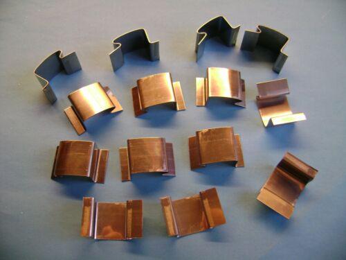 Elite, 50 invernadero Acristalamiento Clips De Vidrio G utilizadas en invernaderos simplicidad