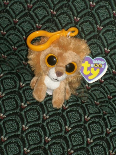 Ct   Ty Beanie Boos Key Clip King The Lion 2011 MINT With Creased ... 2c35b6f06c3d